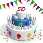 Verjaardag - 50 - jaar