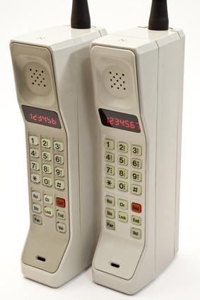 Altes Handy - Mobiltelefon Urahn