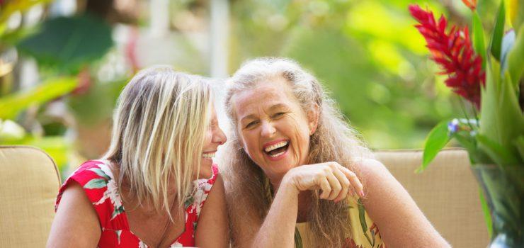 Während der Wechseljahre beginnt oft die Zeit sich mehr mit sich selber dem eigenem Ich oder Wir zu beschäftigen.
