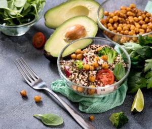 Mit einer vegetarischen Ernährung kann ich schlank und gesund durch die Wechseljahre
